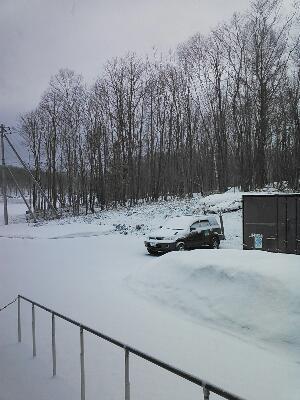 またまた冬景色 winter scenery again