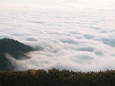 幻の雲海?