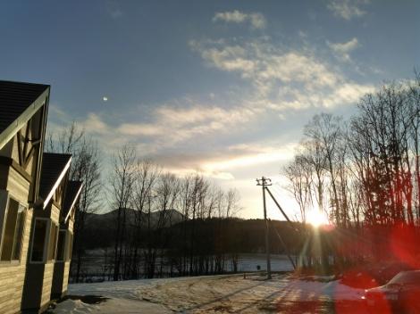陽が短い・・・
