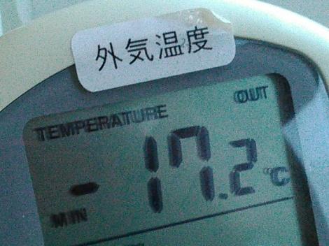 春はいずこ?マイナス17℃
